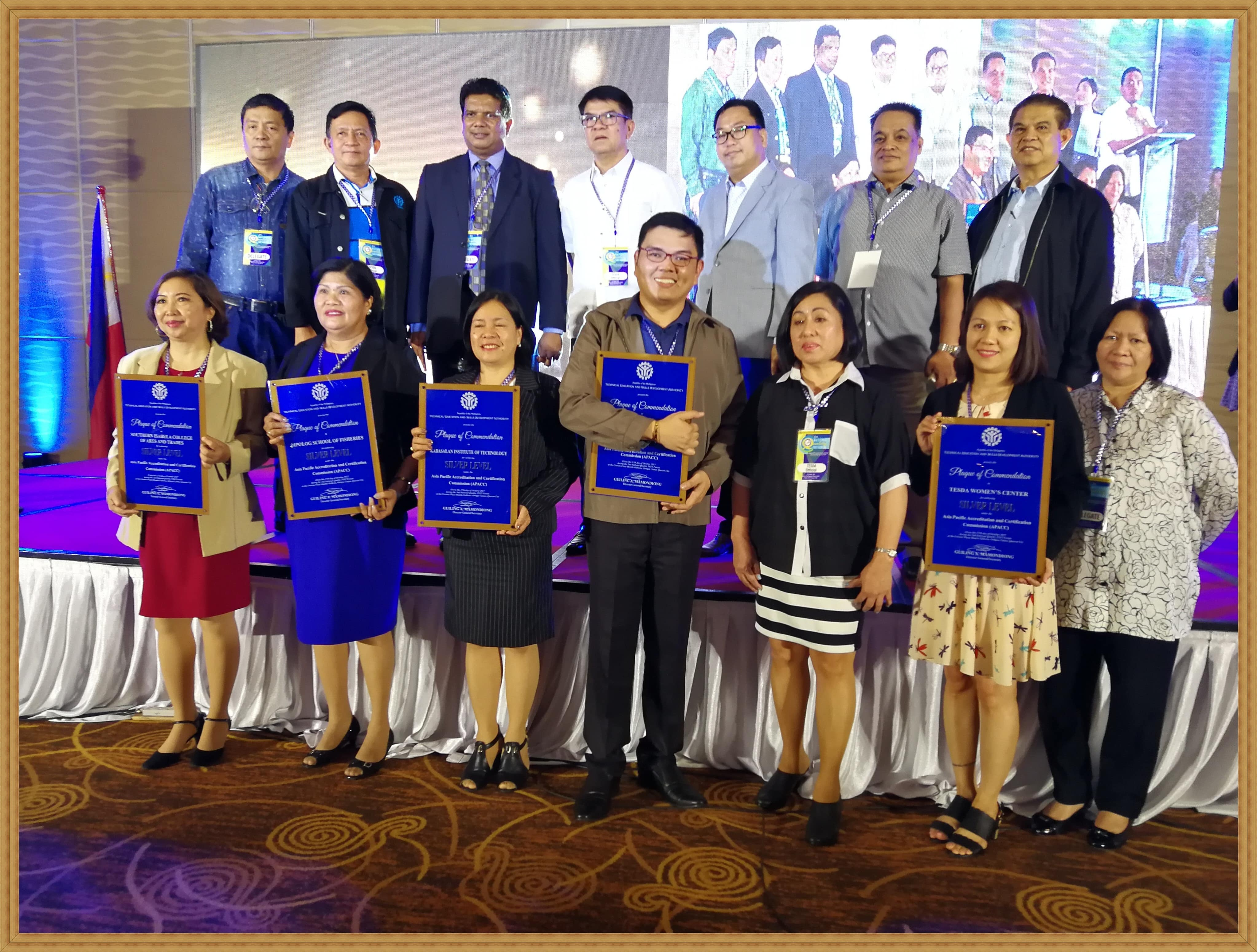 On Becoming an APACC and a STAR Icon: TESDA-CVS wrapped it up.