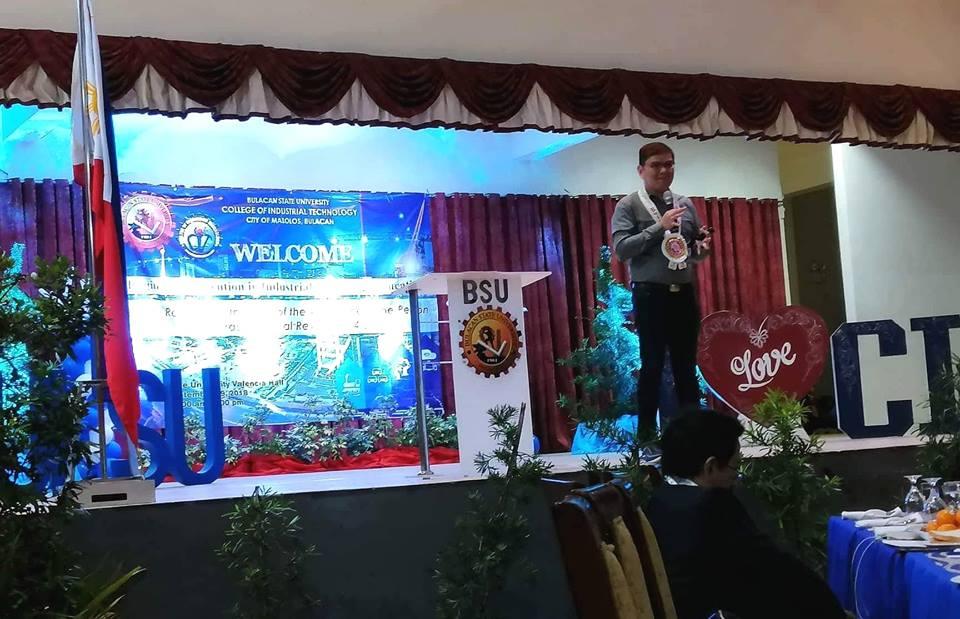 Regional Convention in Industrial Technology - Dr. Alvin Yturralde as Resource Speaker on Green TVET