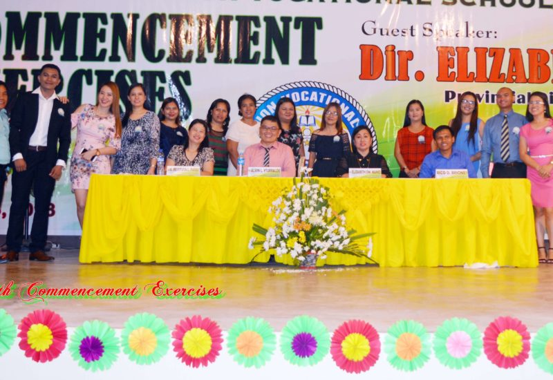 18th Commencement Exercises A night of Family, Love, Fun and Gratitude