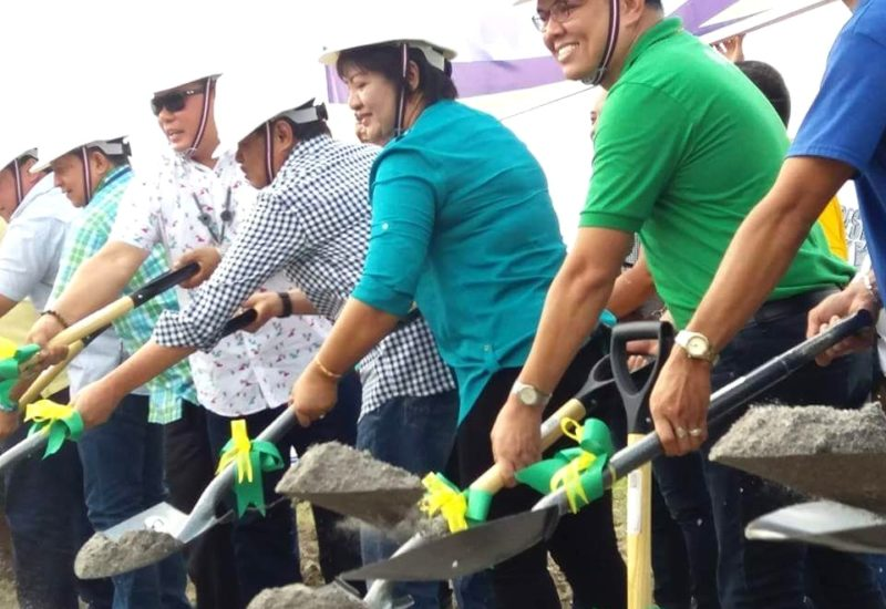 Ground Breaking Ceremony TESDA Skills Training Court for IPs at Cristorey Capas, Tarlac