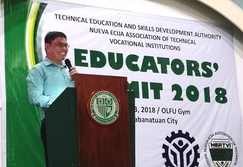 Region III Educators' Summit - Dr. Alvin L. Yturralde as Resources Speaker on Green TVET