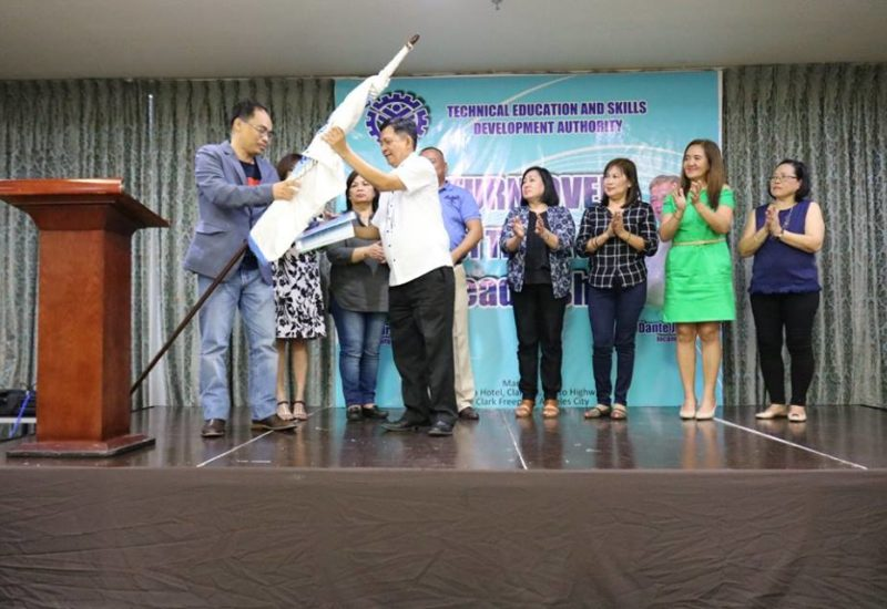 Turnover of TESDA III Leadership