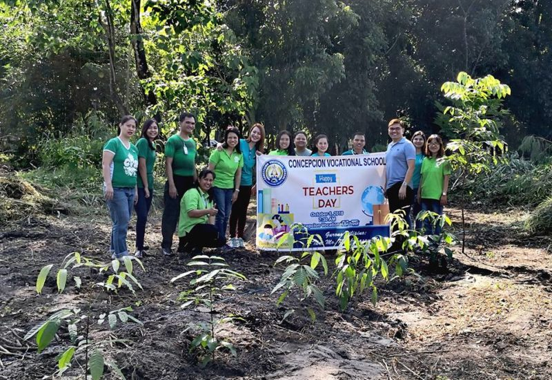 Tree Planting: CVS' Share to Humanity
