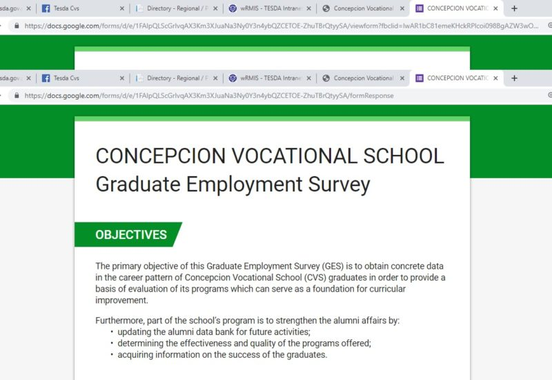 Tracking made easy: CVS Graduates' Employment system