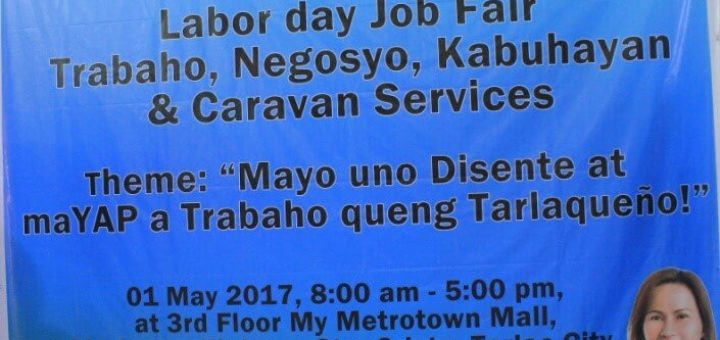 TESDA Tarlac Joins Job Fair at Metrotown Mall