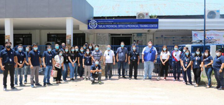 DDG Quisumbing Visits TESDA Tarlac