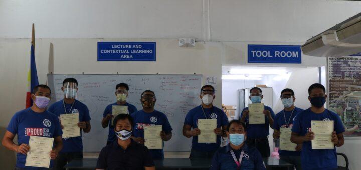 Congratulations! RAC Servicing Nc II Trainees