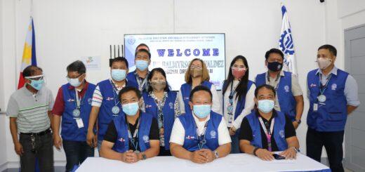 RD Valdez, Provincial Directors snd Administrators Visit PTC-Tarlac